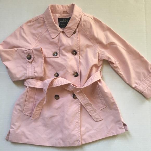Zara Other - Zara Pink Rain Coat